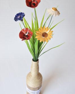 """Composizione """"fiori di campo"""""""