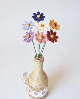 """Composizione con vaso """"margherite"""""""