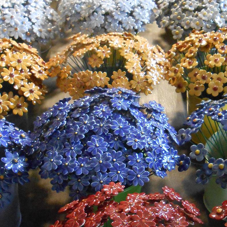 Era ora ceramica fiori colorati