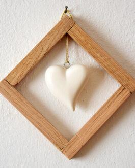 """Quadretto a cornice """"cuore grande"""""""